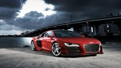 Red 2015 Audi R8 Wallpaper 46507