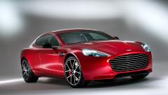 Red Aston Martin Rapide Wallpaper 45301