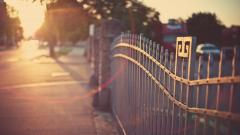 Street Sunset Wallpaper 45491