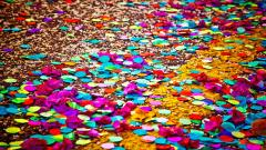 Colorful Confetti Wallpaper 45338