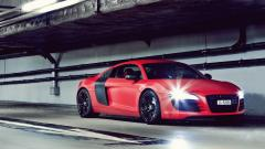 Red Audi R8 Wallpaper 45521