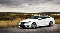 White Mercedes Wallpaper 45568