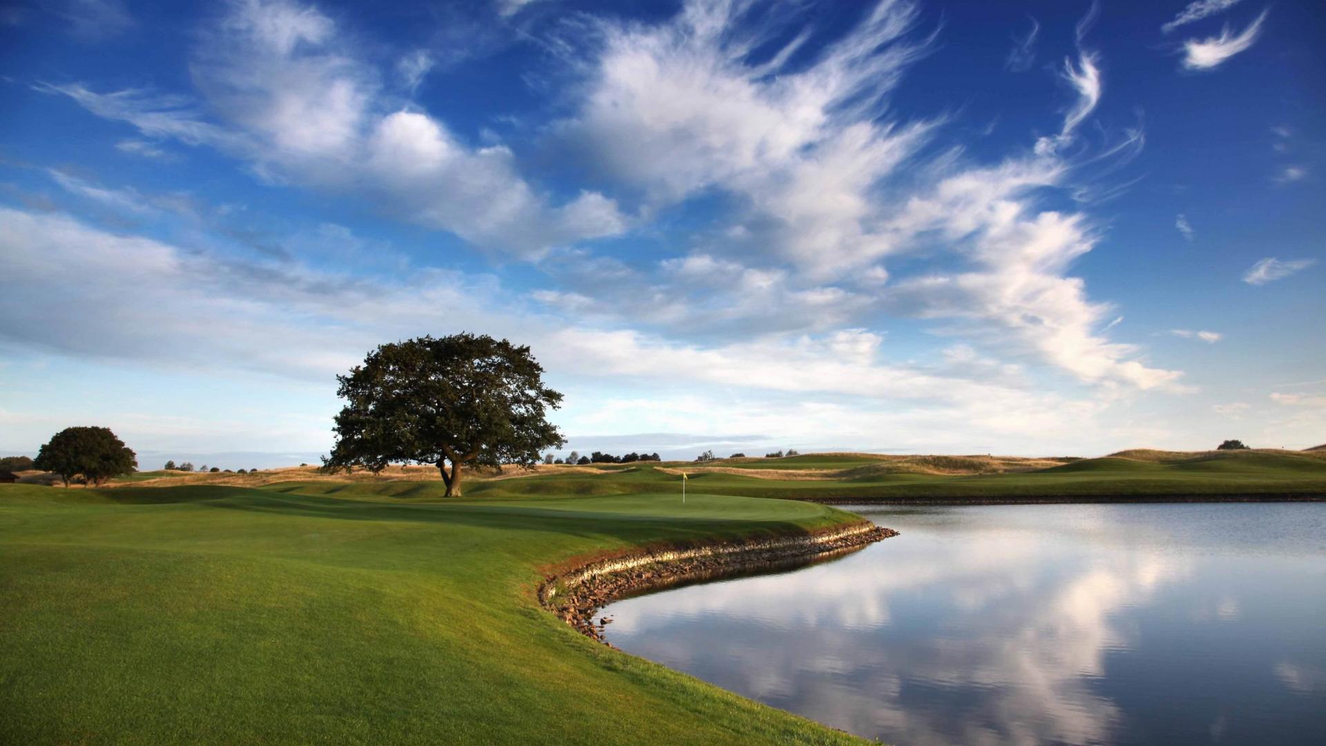 wonderful golf course wallpaper 46044