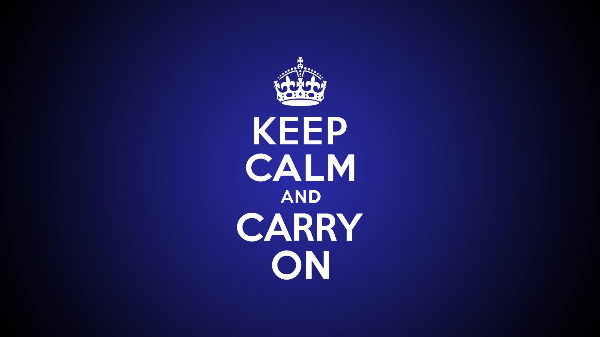 keep calm carry wallpaper download