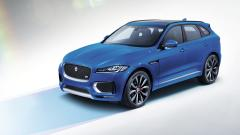 Blue Jaguar F Pace Wallpaper 48764