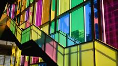Stained Glass Building Wallpaper 46547
