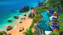 Stunning Bali Resort Wallpaper 45862