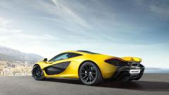 Yellow Mclaren P1 Wallpaper 47045