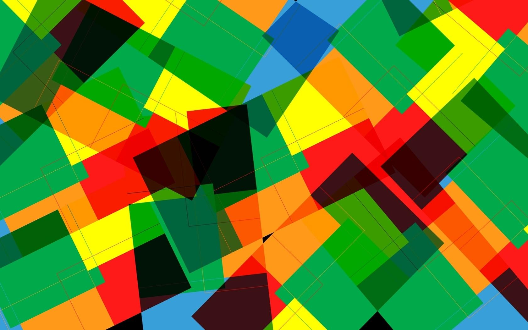 fantastic shapes wallpaper 47205