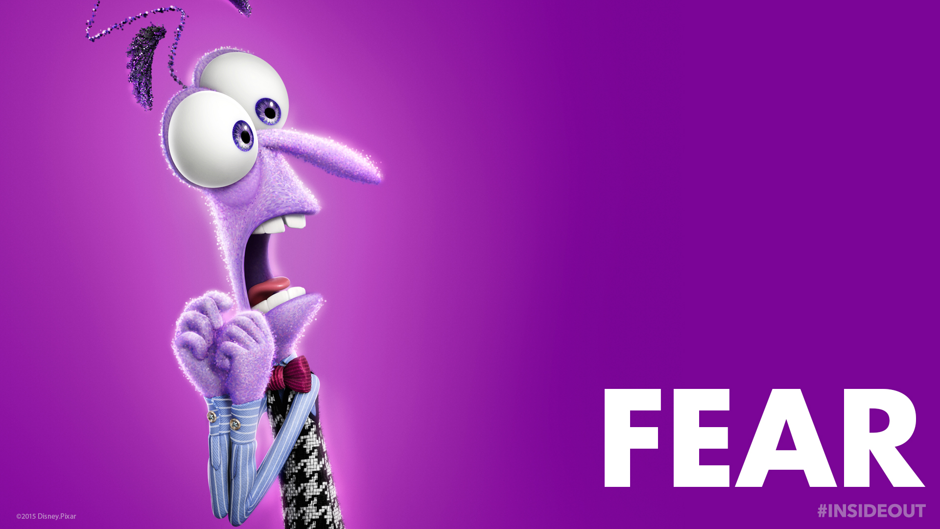 inside out fear wallpaper 48780