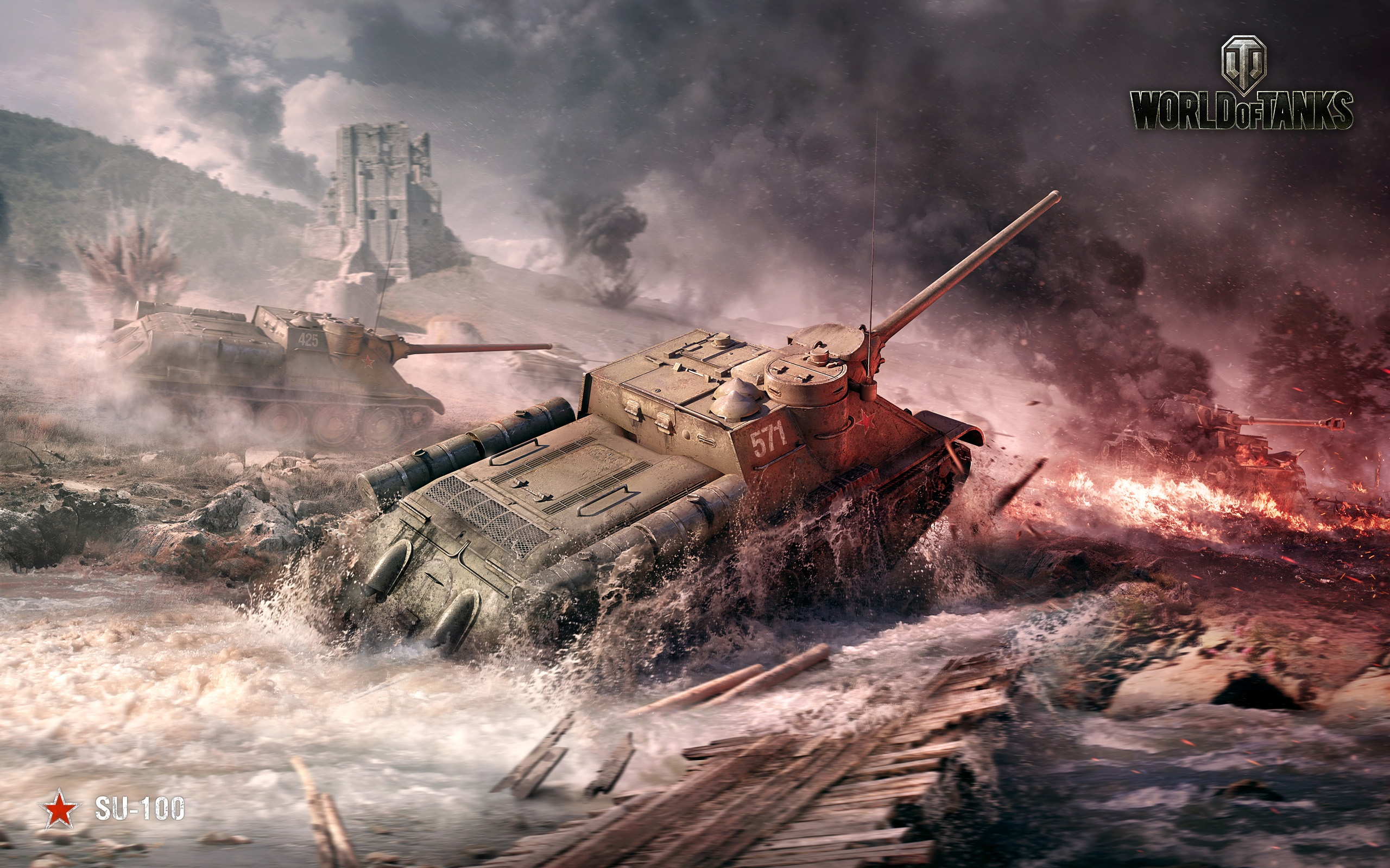 su 100 world of tanks wallpaper 48859