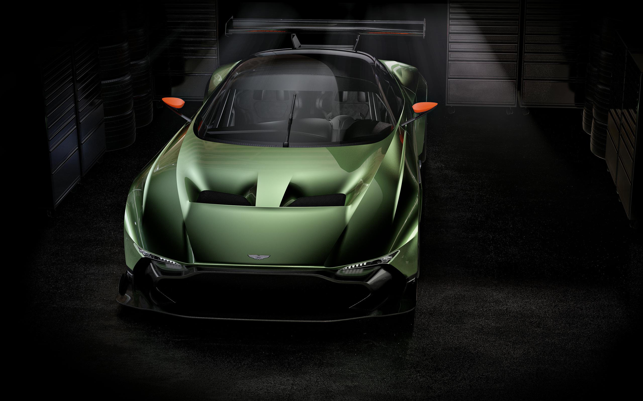 2015 aston martin vulcan front view wallpaper 47504