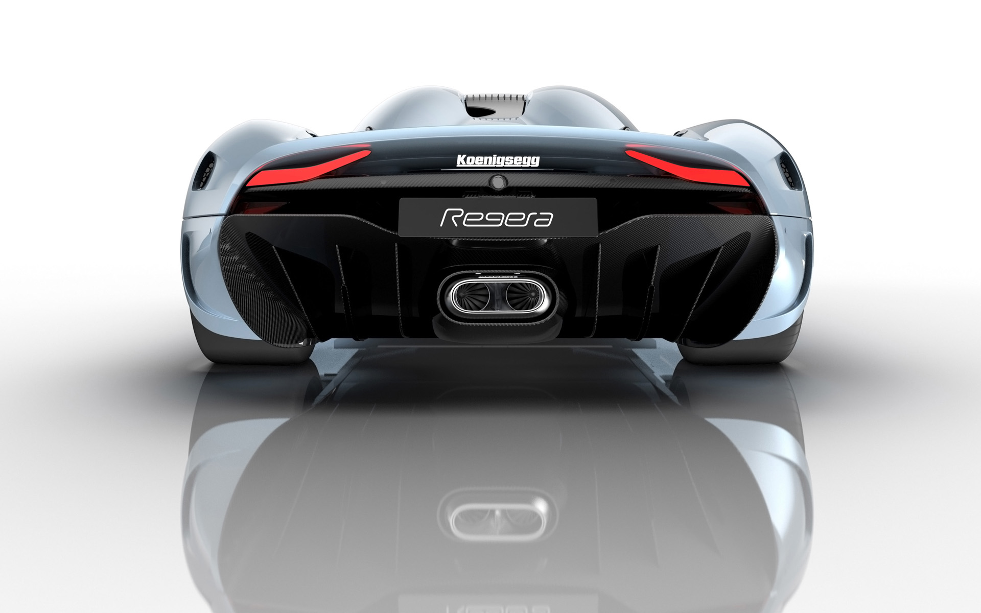 2015 Koenigsegg Regera Rear View Wallpaper 47494 1920x1200px
