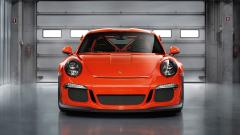 2015 Porsche 911 GT3 RS Front View Wallpaper 47501