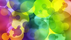 Colorful Bubbles Wallpaper 46067
