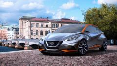 Nissan Sway Concept Front View Wallpaper 47437