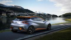 Nissan Sway Concept Rear View Wallpaper 47438