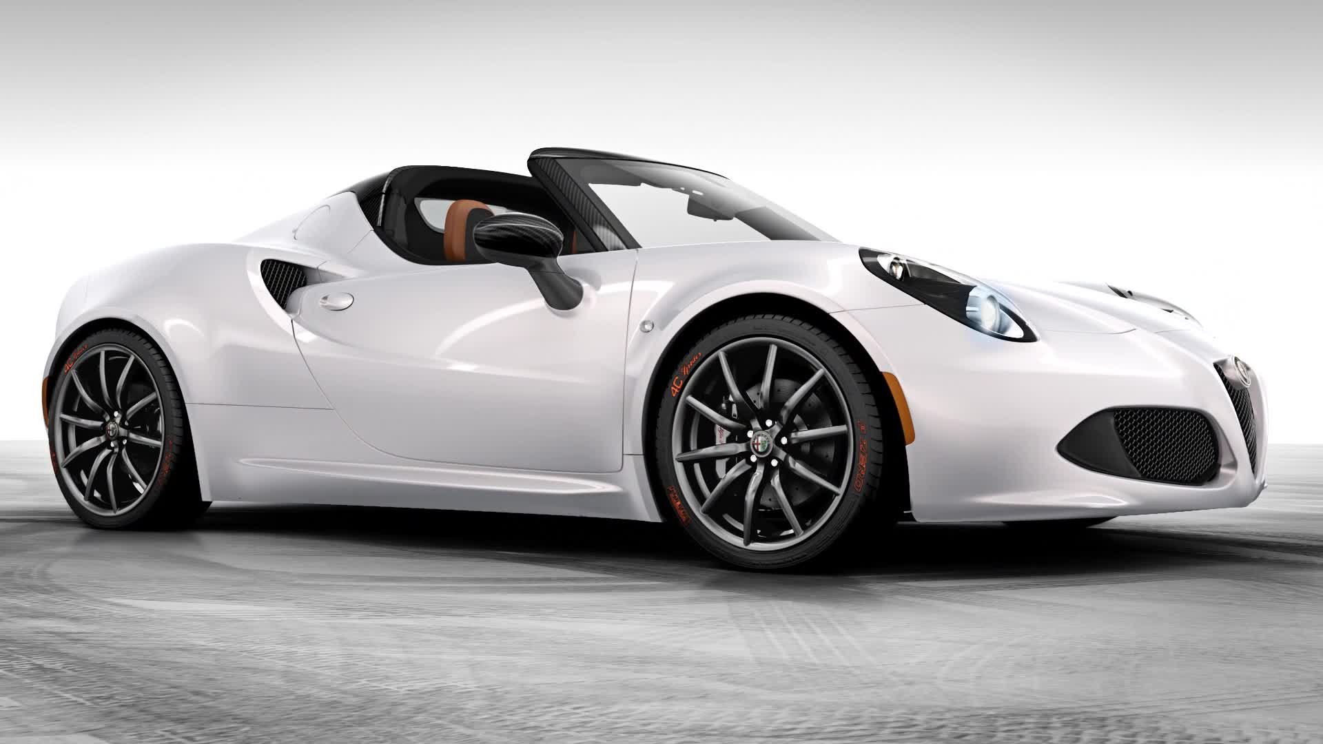 2015 alfa romeo 4c spider wallpaper 47519 1920x1080 px. Black Bedroom Furniture Sets. Home Design Ideas