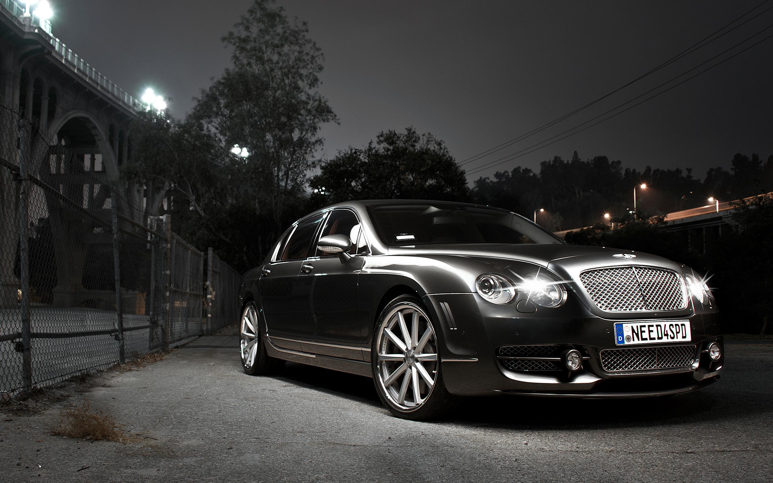 Black Bentley Continental Gt Wallpaper Hd 48795 2560x1600