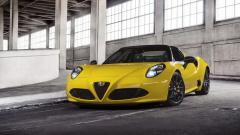 2015 Alfa Romeo 4C Spider Wallpaper HD 47517
