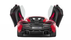 2015 McLaren 540C Coupe Rear View Wallpaper 47471