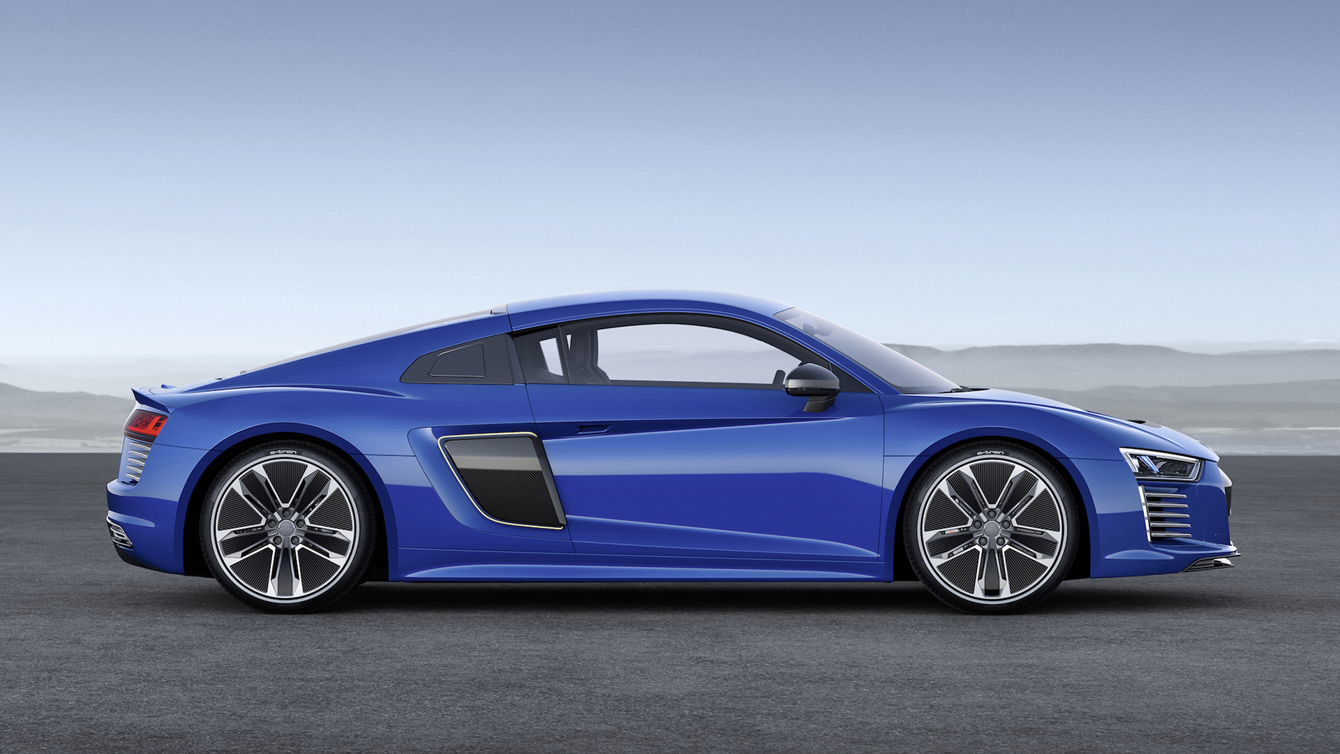 2016 audi r8 side view wallpaper 48736