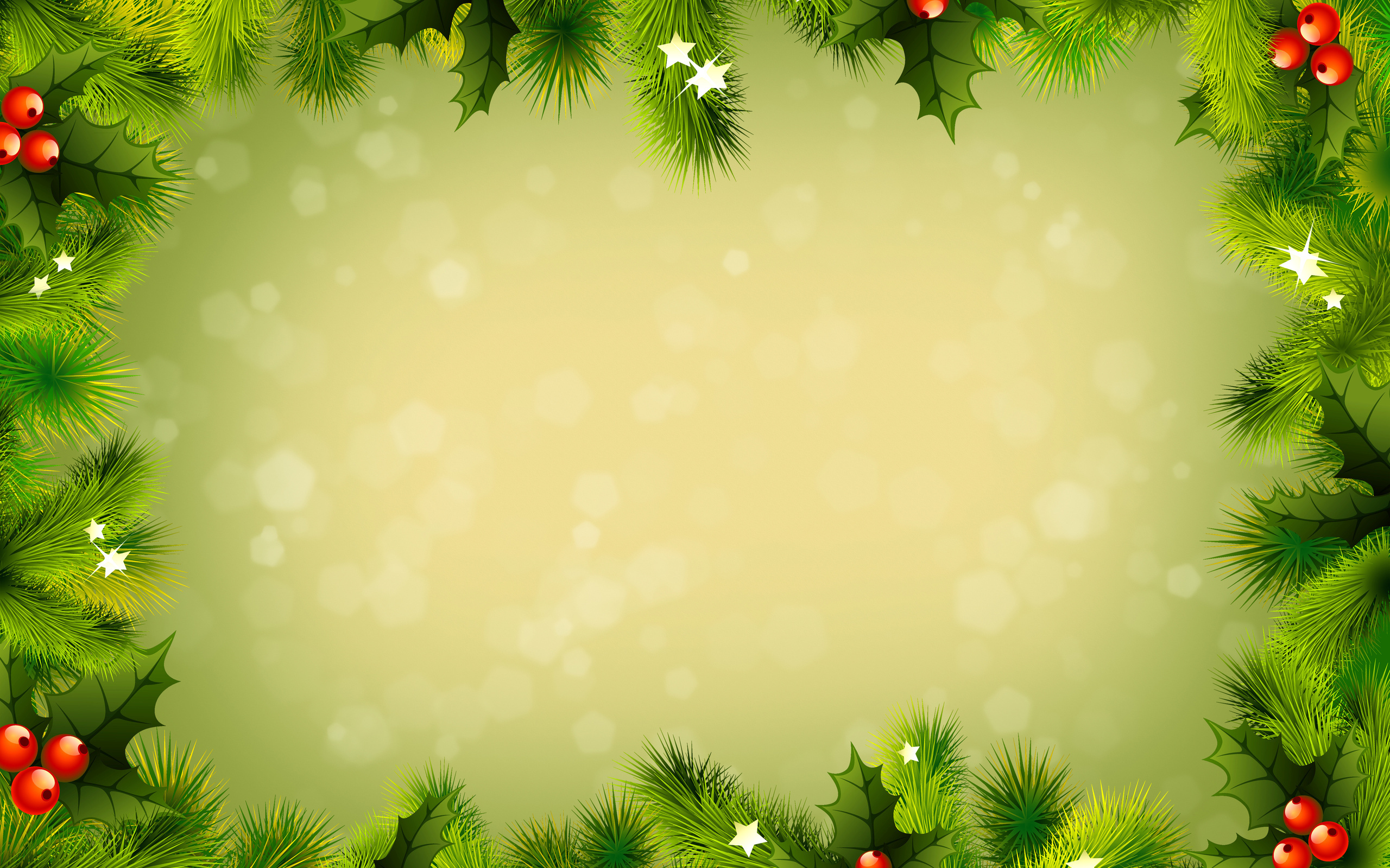 Christmas frame wallpaper 46999 2560x1600px christmas frame wallpaper 46999 voltagebd Image collections