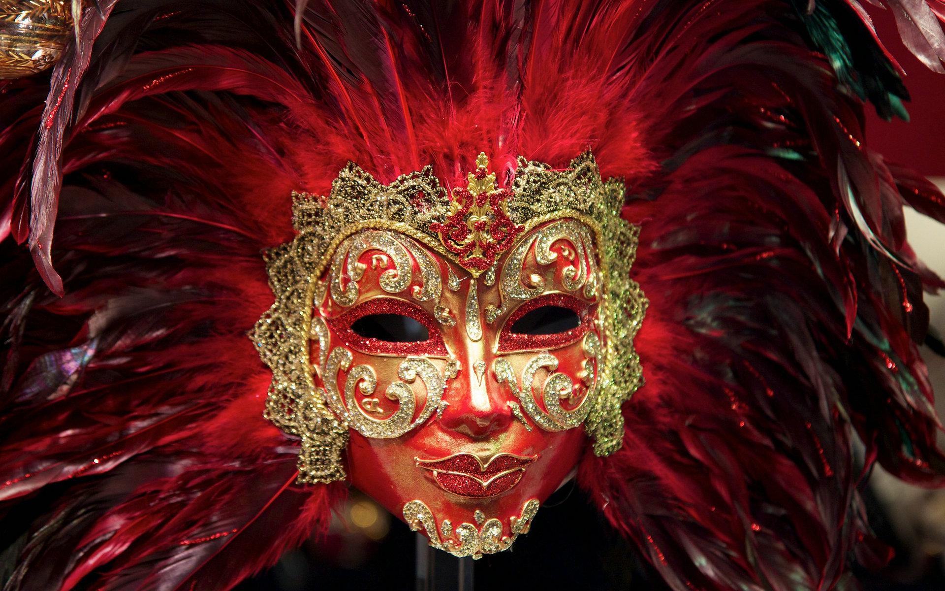 fantastic carnival mask wallpaper 45983