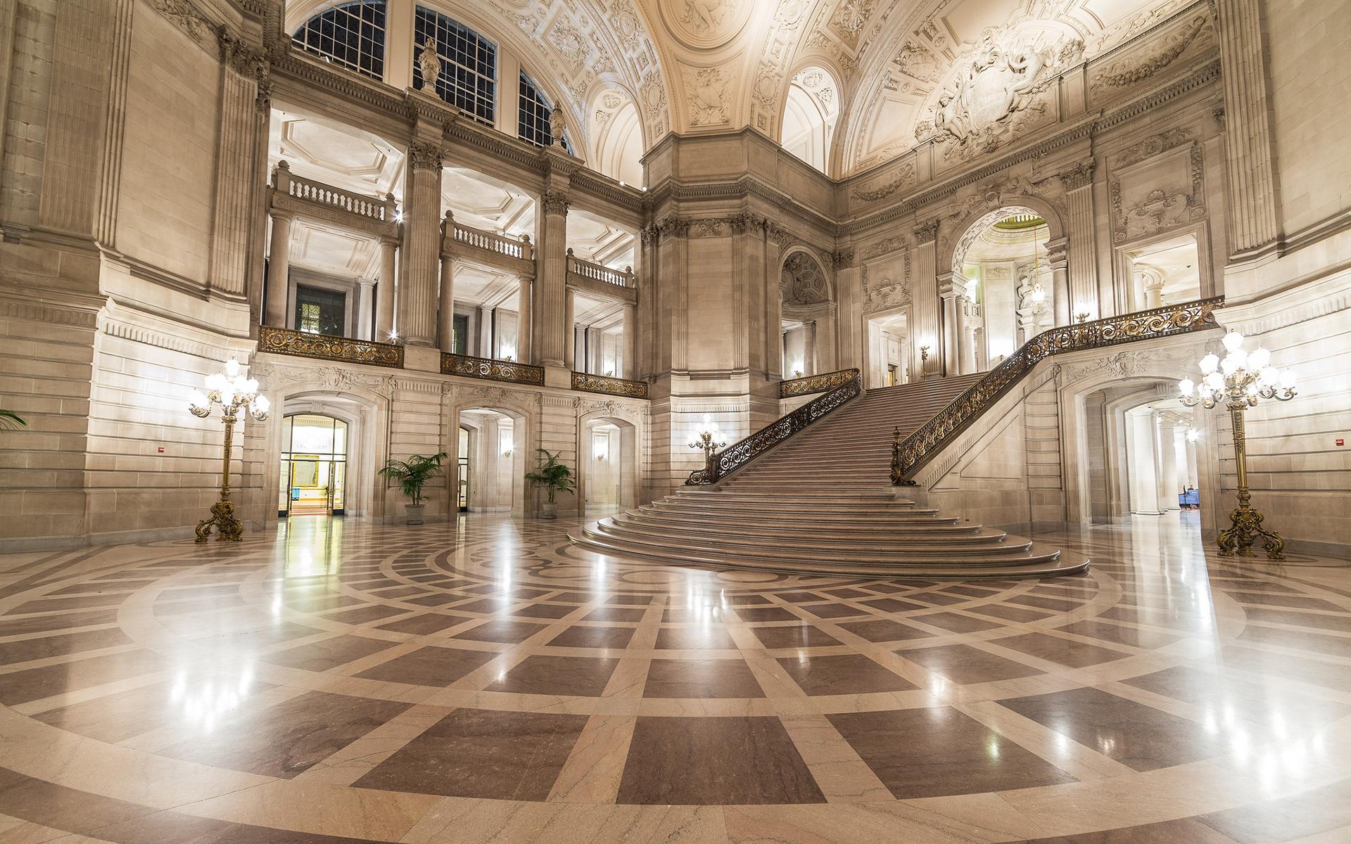 gorgeous staircase wallpaper 45961