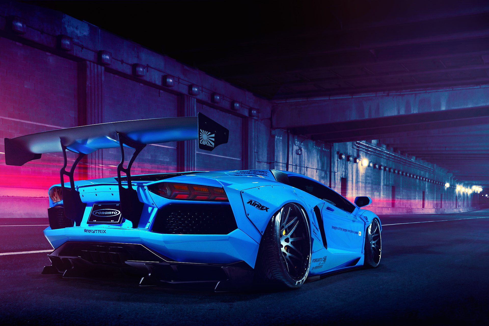 liberty walk lamborghini aventador wallpaper 48728