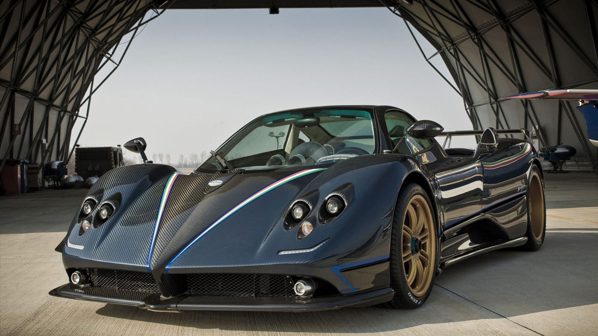 pagani zonda wallpaper background 48732