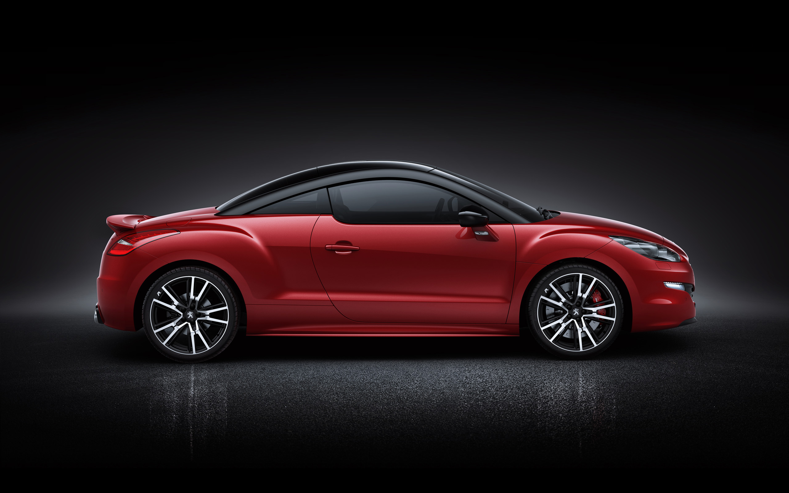 red peugeot rcz wallpaper background 48709