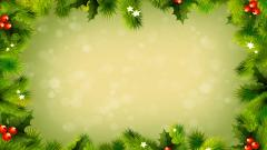 Christmas Frame Wallpaper 46999