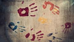 Colorful Handprints Wallpaper 46168