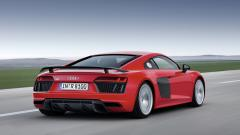 Red 2016 Audi R8 Wallpaper 48737