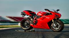 Red Ducati 1198 Wallpaper 48694