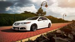 White Honda Accord Wallpaper 48715