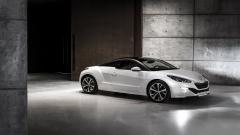 White Peugeot RCZ Wallpaper 48710