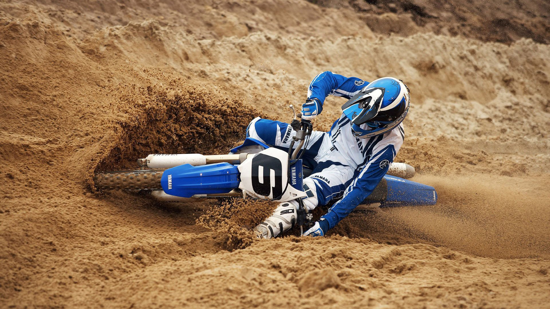 yamaha dirt bike wallpaper hd 48688