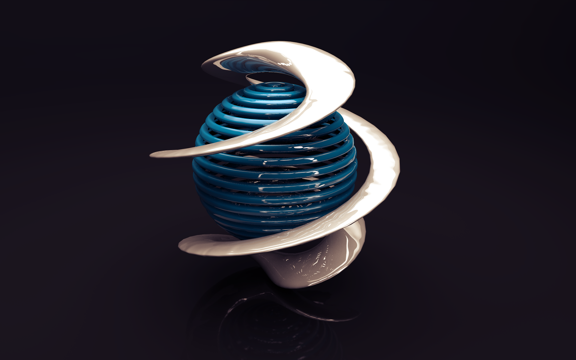 3d sphere wallpaper 47233