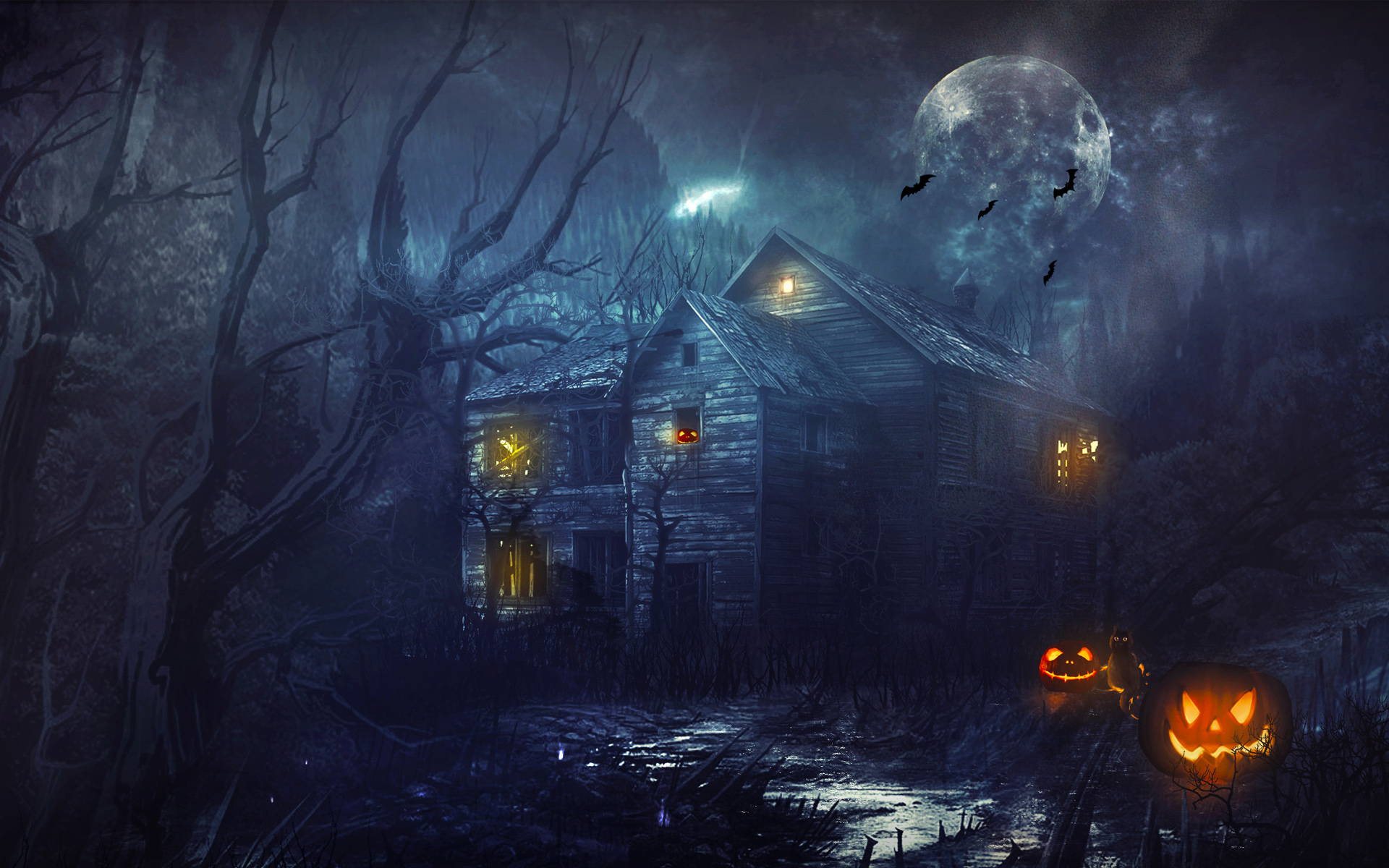 Halloween Wallpaper 48659 1920x1200 Px HDWallSource