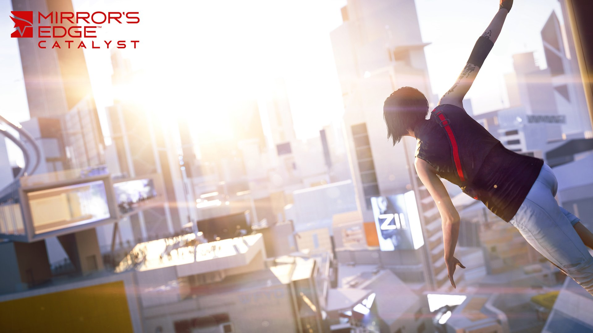 mirrors edge catalyst video game wallpaper 48660