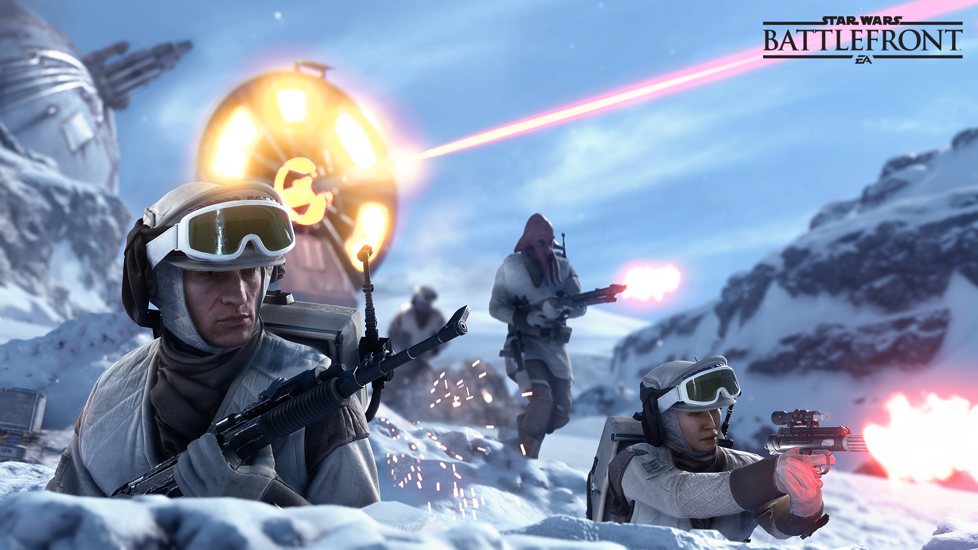 Star Wars Battlefront Game Wallpaper 48665 1920x1080px