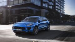 Blue Porsche Macan Wallpaper 48703