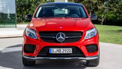 2015 Mercedes Benz GLE Coupe Front View Wallpaper 47557