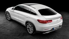 2015 Mercedes Benz GLE Coupe Rear View Wallpaper 47554