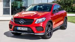2015 Mercedes Benz GLE Coupe Wallpaper 47556