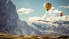 Awesome Hot Air Balloon Wallpaper 47597