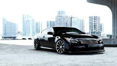 Black Infiniti G37 Wallpaper 46228