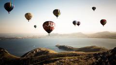 Excellent Hot Air Balloon Wallpaper 47599